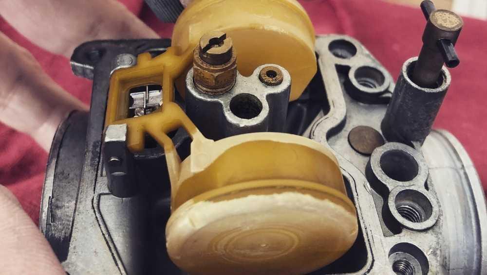 Access the Carburetor