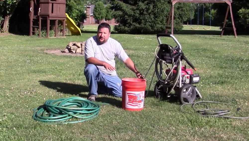 Connecting Pressure Washer to The Water Tank