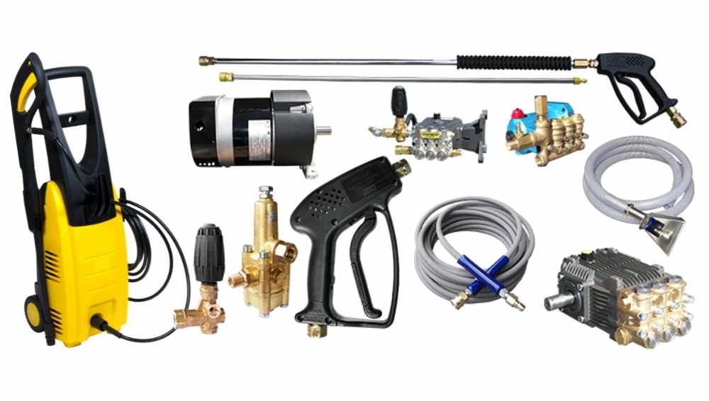 Parts for a Pressure Washing System