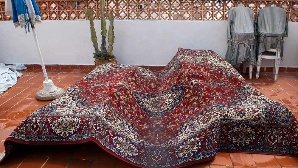 Steps: Can you Power Wash a Rug